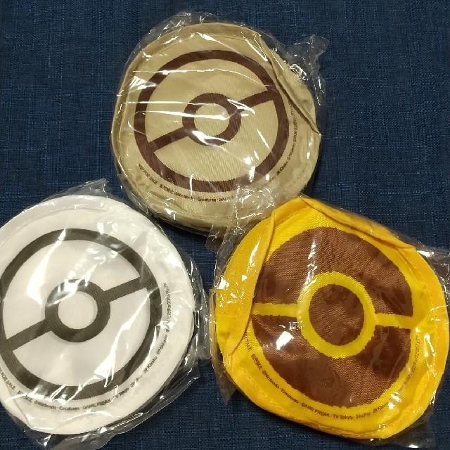 ポケモンエコバック 3点セット エンタメ/ホビーのおもちゃ/ぬいぐるみ(キャラクターグッズ)の商品写真