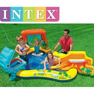 INTEX ダイナソー プレイセンター プール 子供用 家庭用ビニールプール
