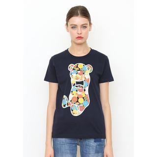 Design Tshirts Store graniph - 【セール】ジャパニーズ フラワー コントロール ベア サイズSS タグ付