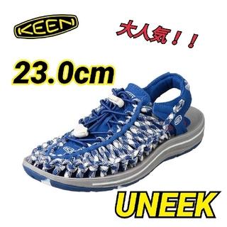 キーン(KEEN)のKEEN キーン UNEEK ユニーク 未使用 新品 23.0cm(サンダル)