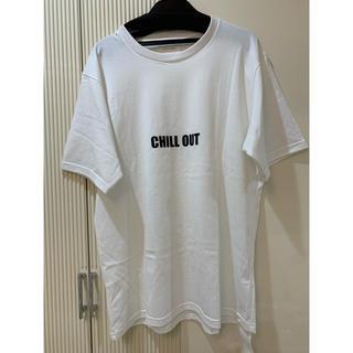 ドゥーズィエムクラス(DEUXIEME CLASSE)の新品タグ付❤️ Deuxieme Classe オーバーサイズロゴTシャツ(Tシャツ(半袖/袖なし))