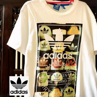 adidas - アディダス オリジナルス シューズ柄 靴柄 ヒールタブ タンクトップ Tシャツ