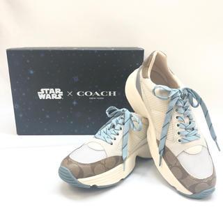 コーチ(COACH)の【新品】coach コーチ メンズ スニーカー スターウォーズ コラボ(スニーカー)
