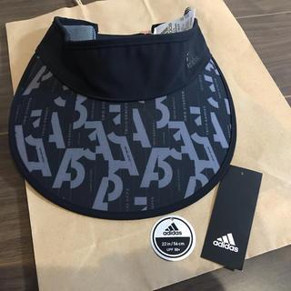 アディダス(adidas)の★引越しSALE★adidas UVバイザー(サンバイザー)