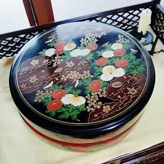 昭和レトロ 寿司桶 (和柄)