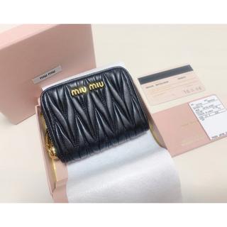 miumiu - 美品 miumiu マテラッセ 財布