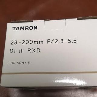 タムロン(TAMRON)の■新品■ タムロン28-200mm F2.8-5.6 Di III RXD(レンズ(ズーム))