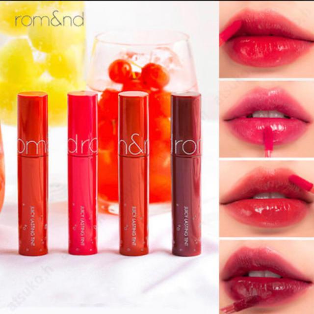 ロムアンド ジューシーラスティングティント  10 コスメ/美容のベースメイク/化粧品(口紅)の商品写真