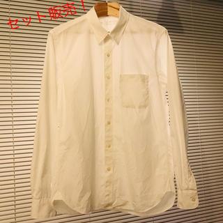 ムジルシリョウヒン(MUJI (無印良品))のセット販売! 美品 無印  オーガニックコットン 洗いざらしブロードシャツ(シャツ)