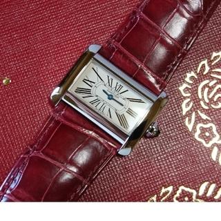 カルティエ(Cartier)の☆美品☆ カルティエ ミニ タンク ディヴァン レディース / 腕時計(腕時計)