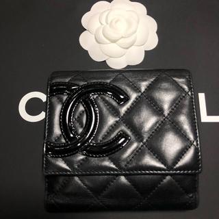 CHANEL - CHANEL◕◕ カンボン 財布
