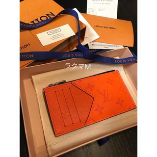 LOUIS VUITTON - レア 新品 ルイヴィトン  コインカードホルダー オレンジ 2020年新作 完売