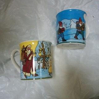 ビレロイアンドボッホ(ビレロイ&ボッホ)のVilleroy & Boch マグカップ2個(グラス/カップ)