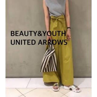 BEAUTY&YOUTH UNITED ARROWS - BEAUTY&YOUTH UNITED ARROWS ワイドパンツ