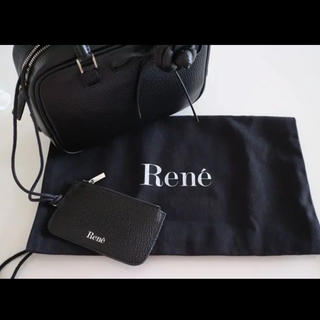 """ルネ(René)のRene Bag""""ALYA""""  黒  美品(ハンドバッグ)"""