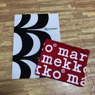 マリメッコ(marimekko)のマリメッコ ムック本&ロゴポーチ(その他)