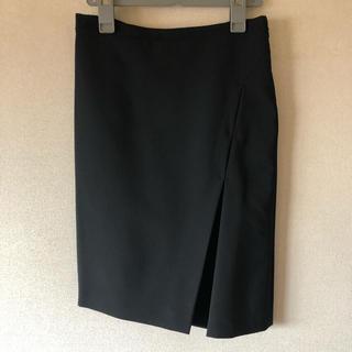 サルヴァトーレフェラガモ(Salvatore Ferragamo)の新品未使用 フェラガモ デザインスカート(ひざ丈スカート)