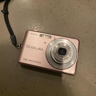 カシオ(CASIO)のCasio デジカメ EXILIM 7.2 MEGA PIXELS ピンク(コンパクトデジタルカメラ)