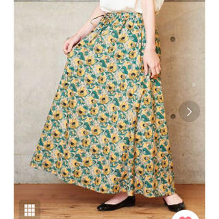 Dot&Stripes CHILDWOMAN -  ドットアンドストライプス ひまわりプリントスカート