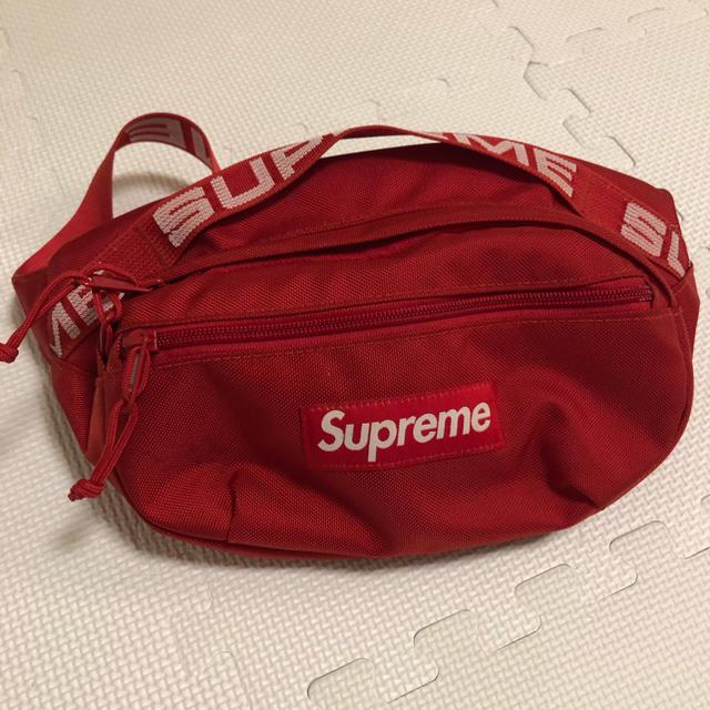 Supreme(シュプリーム)のSupreme 18ss waist bag red メンズのバッグ(ウエストポーチ)の商品写真