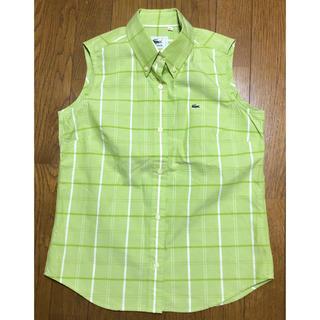 ラコステ(LACOSTE)のノースリーブシャツ LACOSTE ラコステ 40(シャツ/ブラウス(半袖/袖なし))