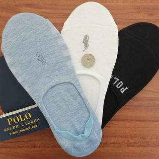 POLO RALPH LAUREN - 新品ポロラルフローレン レディース靴下 ソックス  3足セットB1