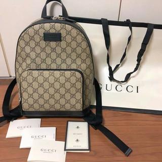 Gucci - GUCCI リュック GGスプリーム キャンバス スモール バックパック
