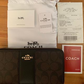 COACH - コーチ財布 COACH長財布 ブラック