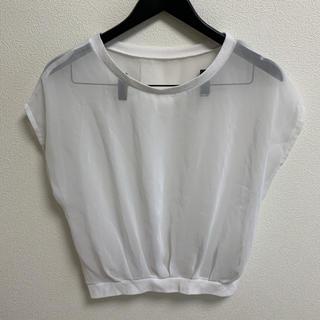 SPIRAL GIRL - SPIRAL GIRL Tシャツ カットソー トップス シースルー