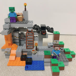 Lego - 21113 レゴ マインクラフト 洞窟