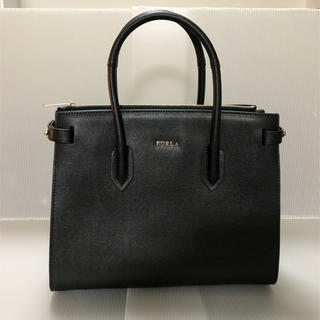 Furla - FURLA PIN S TOTE BLS1-942235/ONYX ブラック