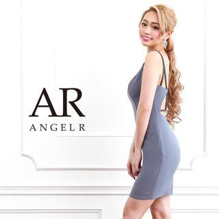 AngelR - Angelr バックビジューデザインタイトミニドレス