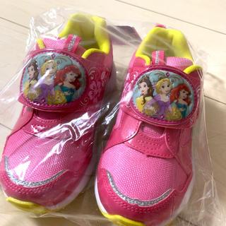 Disney - 新品 ディズニー プリンセス スニーカー 子供 靴 18センチ