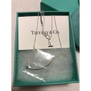 ティファニー(Tiffany & Co.)のティファニー ネックレス Tスマイルペンダント S925(ネックレス)
