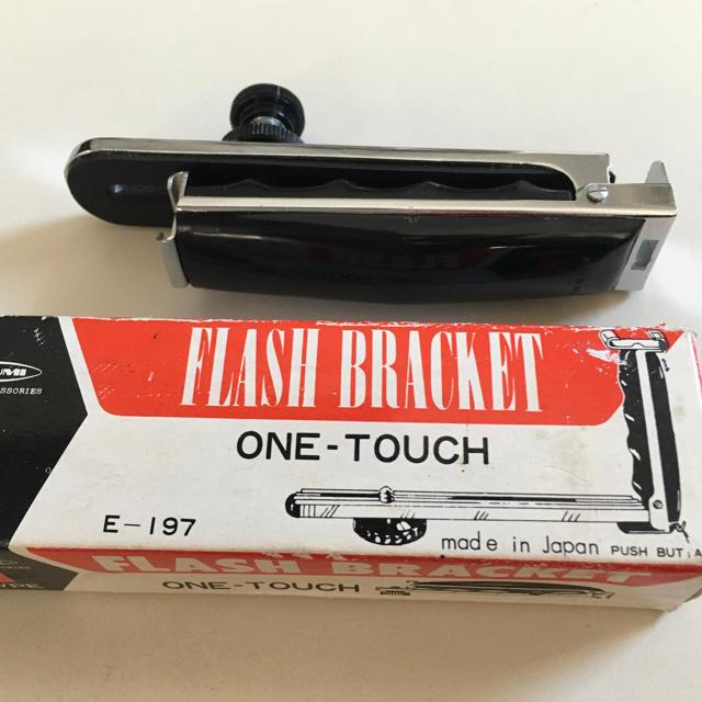 ETSUMI(エツミ)のカメラ用 フラッシュ ブラケット   スマホ/家電/カメラのカメラ(その他)の商品写真
