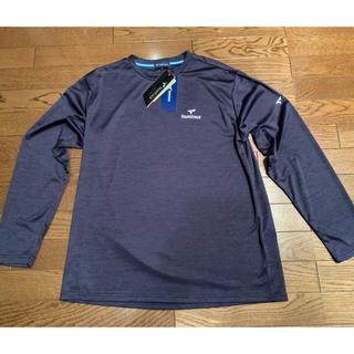 ツアーステージ(TOURSTAGE)のゴルフウエア ツアーステージ Tシャツ 長袖 杢ネイビー LLサイズ 薄手(ウエア)