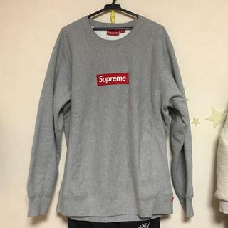 Supreme - 国内正規品 15FW Supreme Box logo crew neck