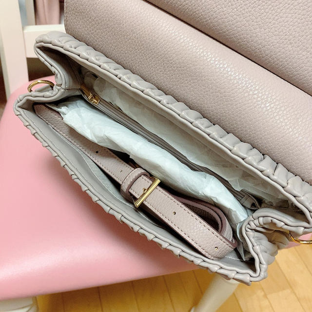 JILL by JILLSTUART(ジルバイジルスチュアート)のJILLBYJILLSTUART リボンバッグ レディースのバッグ(ハンドバッグ)の商品写真