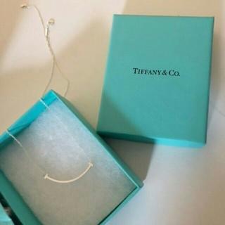 Tiffany & Co. - ☆新品 ティファニー☆Tスマイルミニネックレスシルバー☆