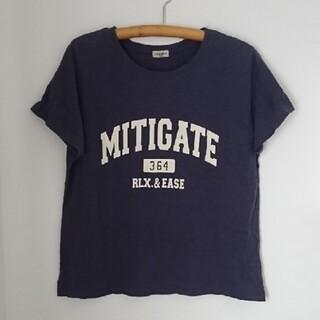 SM2 - サマンサモスモス ꕤ プリント Tシャツ ネイビー