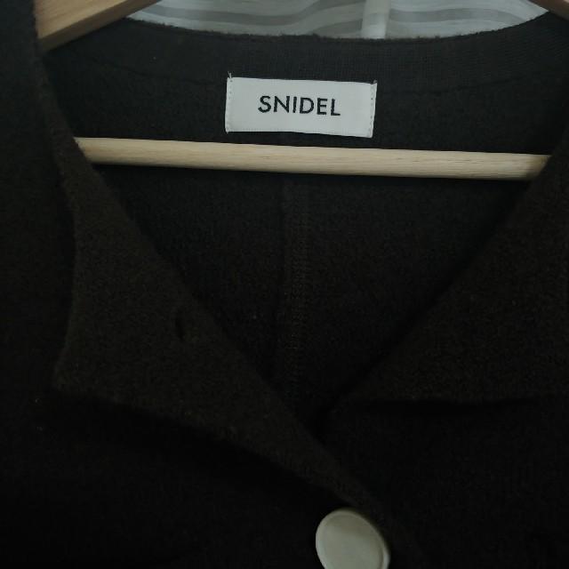 snidel(スナイデル)のsnidel ボイルドウールジャケット レディースのジャケット/アウター(ノーカラージャケット)の商品写真