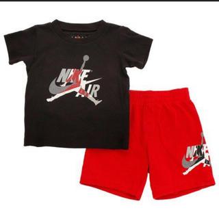 NIKE - 新品未使用NIKEジョーダンセットアップ90cm♡ナイキ半袖Tシャツハーフパンツ