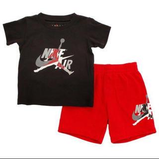 NIKE - 新品未使用NIKEジョーダンセットアップ100cmナイキ半袖Tシャツハーフパンツ