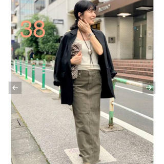 アパルトモンドゥーズィエムクラス(L'Appartement DEUXIEME CLASSE)の【UPPER HIGHTS/アッパーハイツ】Corduroy Long スカート(ロングスカート)