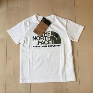 新品 タグ付き ノースフェイス キッズ Tシャツ