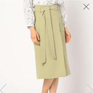 NOLLEY'S - 【未着用】ノーリーズ リボン付ポケットスカート