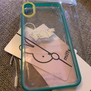 merry jenny - ミッフィー ぷかぷかうさぎ iPhone case グリーン(X/Xs)
