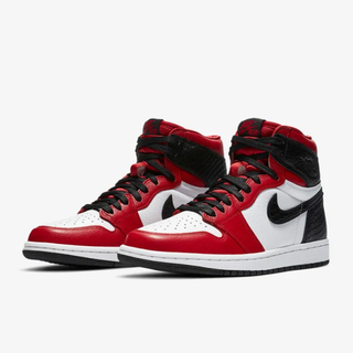 "NIKE - Nike Air Jordan 1 ""Satin Red"" (27.5cm)"