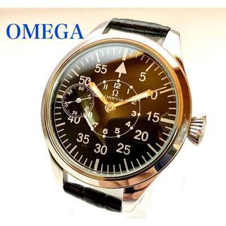 OMEGA - OH済 OMEGA オメガ 手巻き機械式メンズ腕時計 アンティーク ミリタリー
