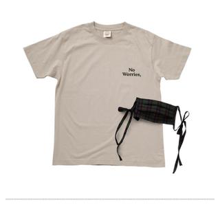 単品可🌸紗栄子さん 「Think The DAY」Tシャツ&マスクset🌸(Tシャツ(半袖/袖なし))